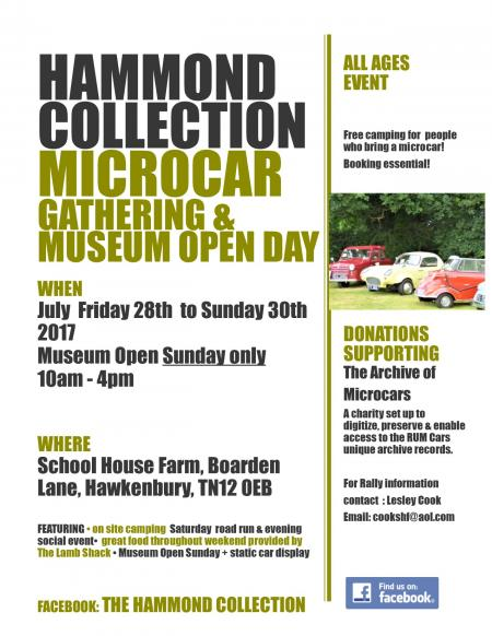 The Hammond Collection Open Day July 2017