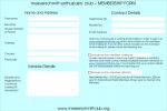 Postal Form: Download a postal application form